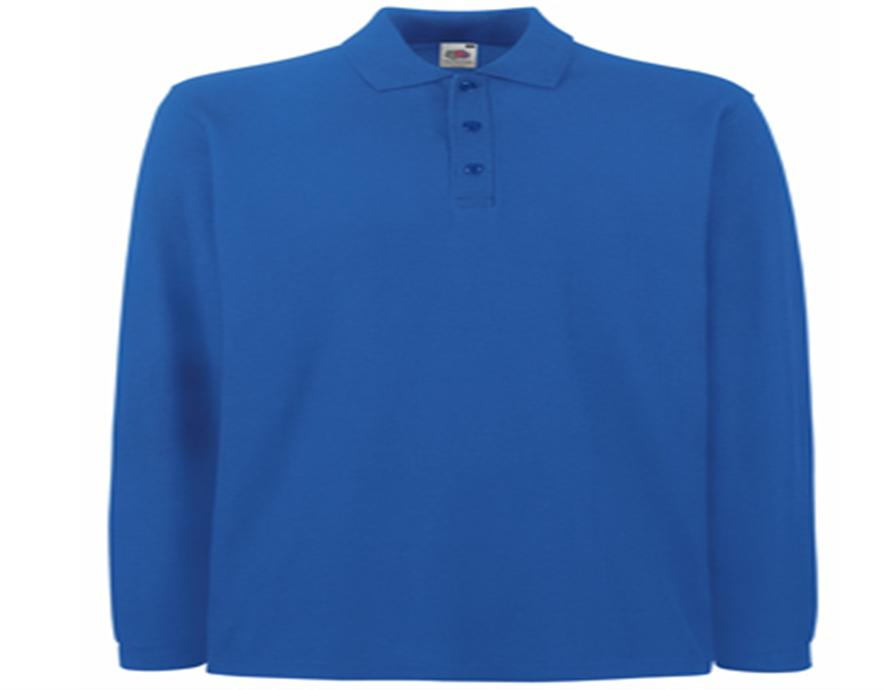 Polo shirt Fruit of the Loom Premium Long Sleeve