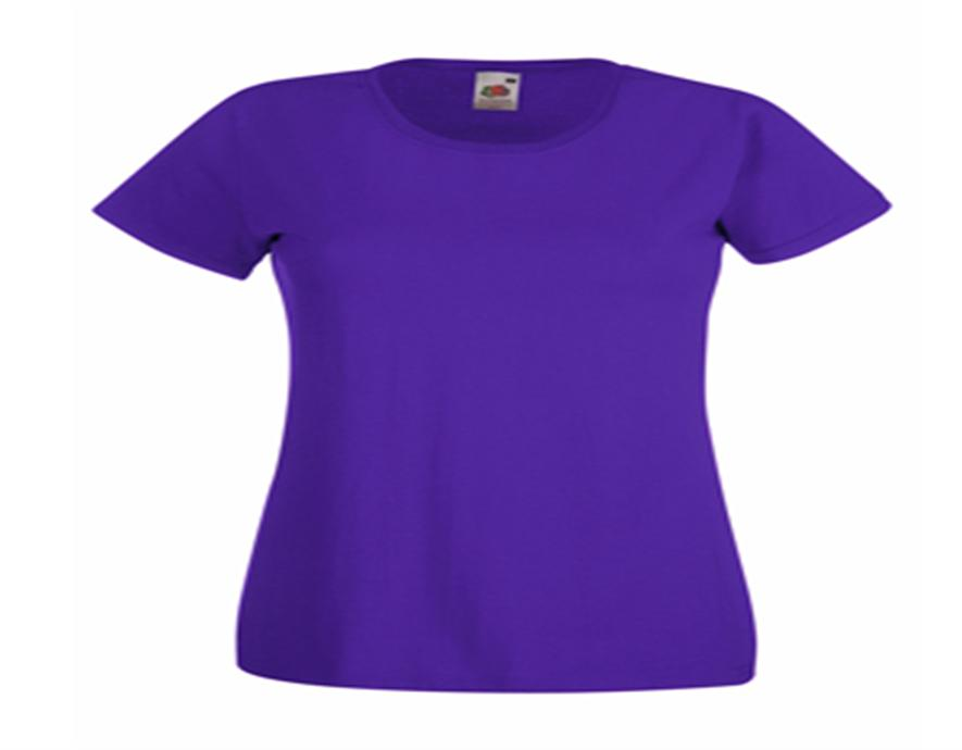 T-shirt Fruit of the Loom Lady-Fit