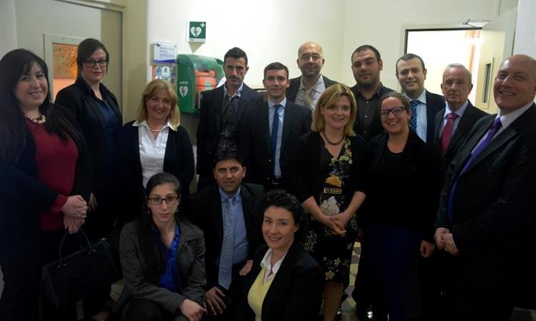 BAKER TILLY MALTA'S STAFF DONATES AN AUTOMATED EXTERNAL DEFIBRILLATOR (AED) TO DAR IL-KAPTAN