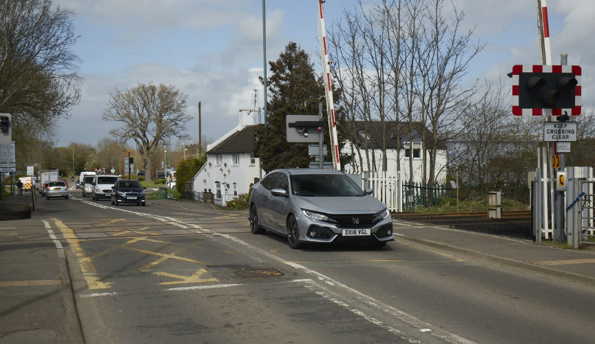 Harlescott Level Crossing Shrewsbury
