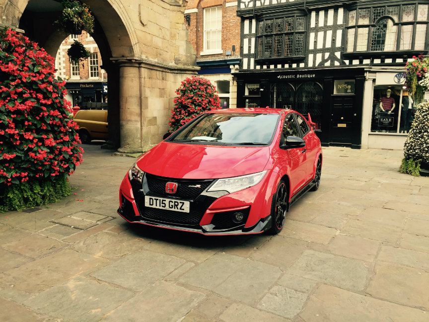 Honda Type R in Shrewsbury