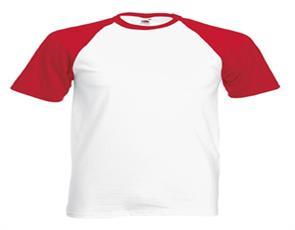 T-shirt Fruit of the Loom Baseball