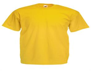 T-shirt Fruit of the Loom Valueweight