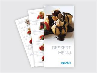 Bognor dessert menu