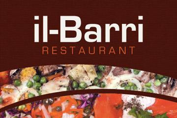 Il-Barri Restaurant menu