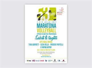 Volleyball Marathon poster
