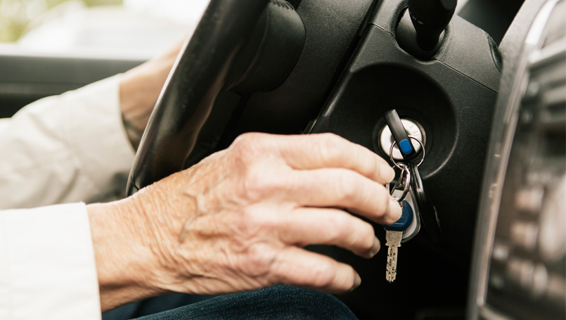 elderly drivers in Shropshire