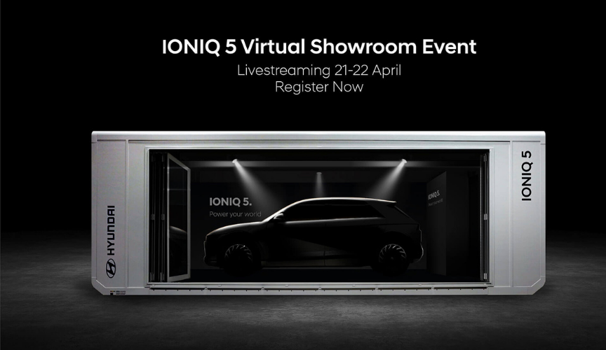 IONIQ 5 Virtual Showroom from April 21-22