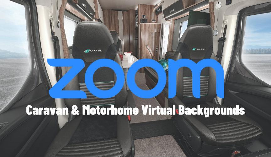 Custom Caravan & Motorhome virtual background for your Zoom calls