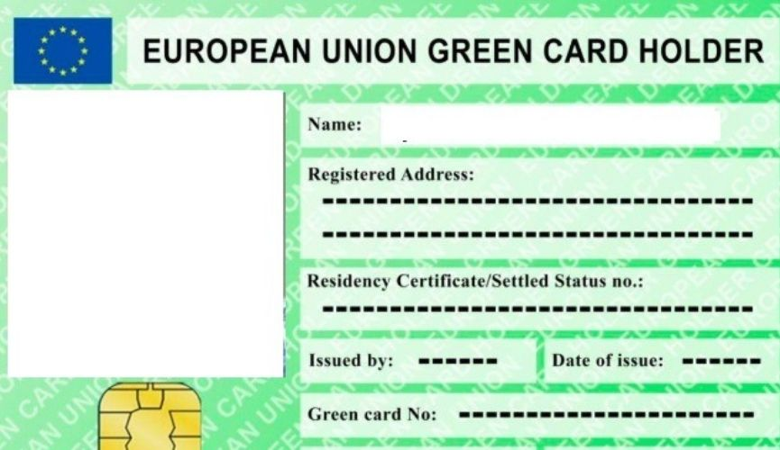 European Union Green Card