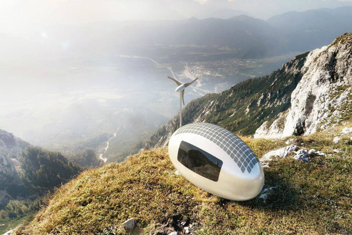 Glamping Pods of the future