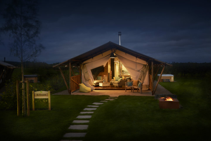 Glamping Lodge Love2Stay Shropshire