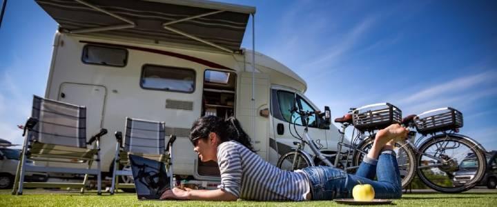 Caravan Park with wifi