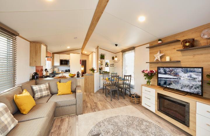 Lodge Breaks Living Room