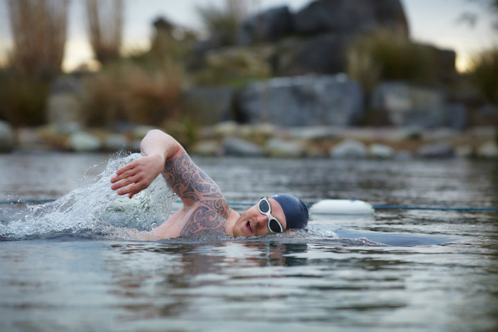 The benefits of cold water swimming