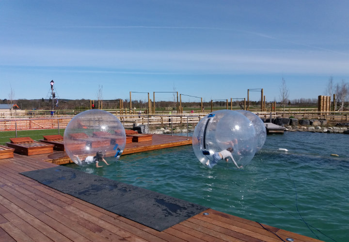 Love2Stay Touring park - zorb ball fun