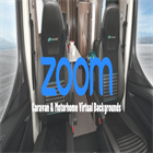 Custom Caravan & Motorhome virtual background for your Zoom calls